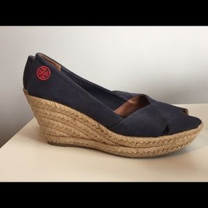 Like-new Tory Burch Wedge Sandals